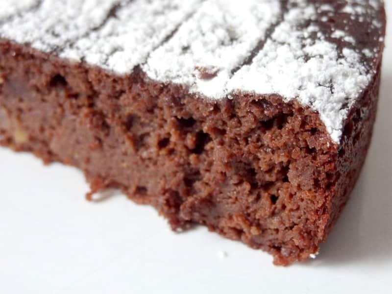 Moelleux chocolat – cacahuète sans gluten & sans sucre ajouté