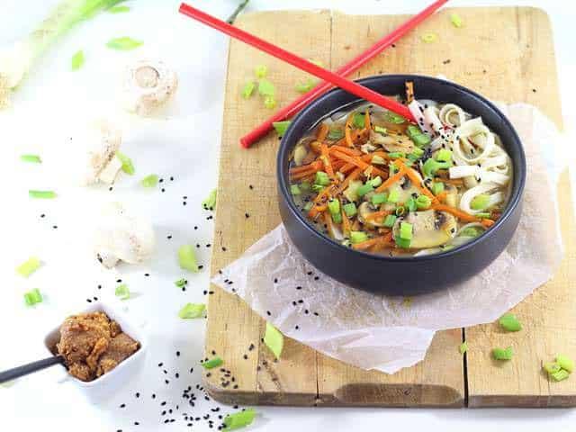 Poêlée riz & légumes au miso