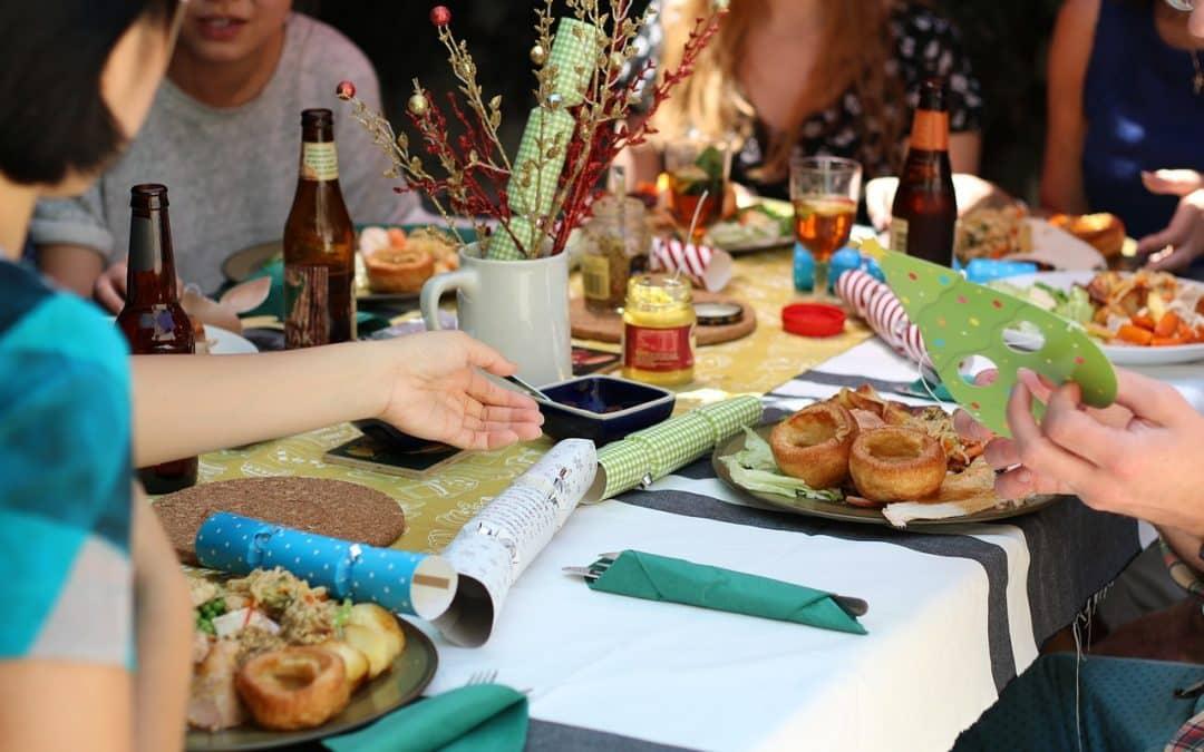 Que faire pour un repas entre amis ?